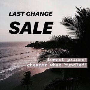 🌴 LAST CHANCE SALE 🌴